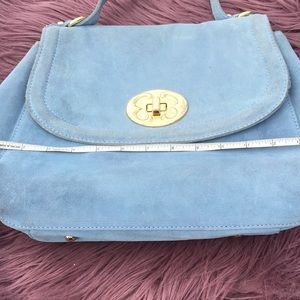 ❤️Emma Fox Light Blue Suede Bag❤️